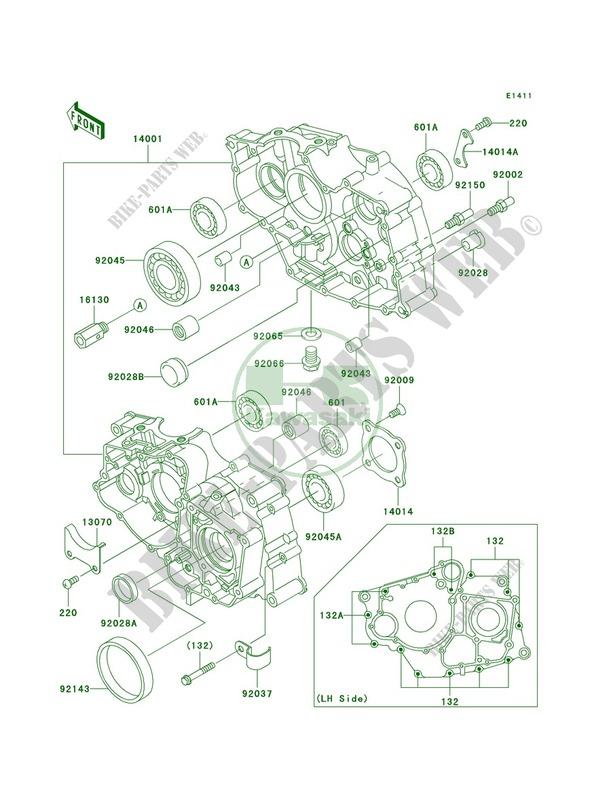 34 Kawasaki Bayou 250 Parts Diagram