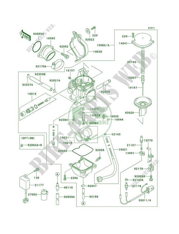 Kawasaki Prairie 300 Schematics - Wiring Diagram K8 on