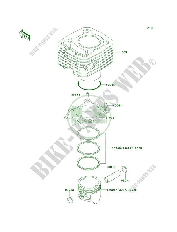 33 Kawasaki Bayou 220 Engine Diagram