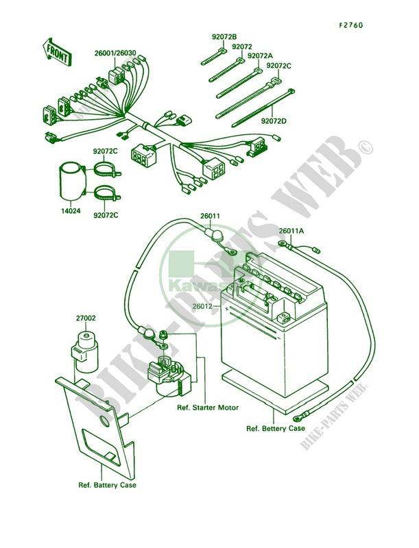 Electrical Equipment for Kawasaki Bayou 220 1989 # KAWASAKI ... on klt 200 wiring diagram, klt 250 wiring diagram, ke 125 wiring diagram, ke100 wiring diagram,