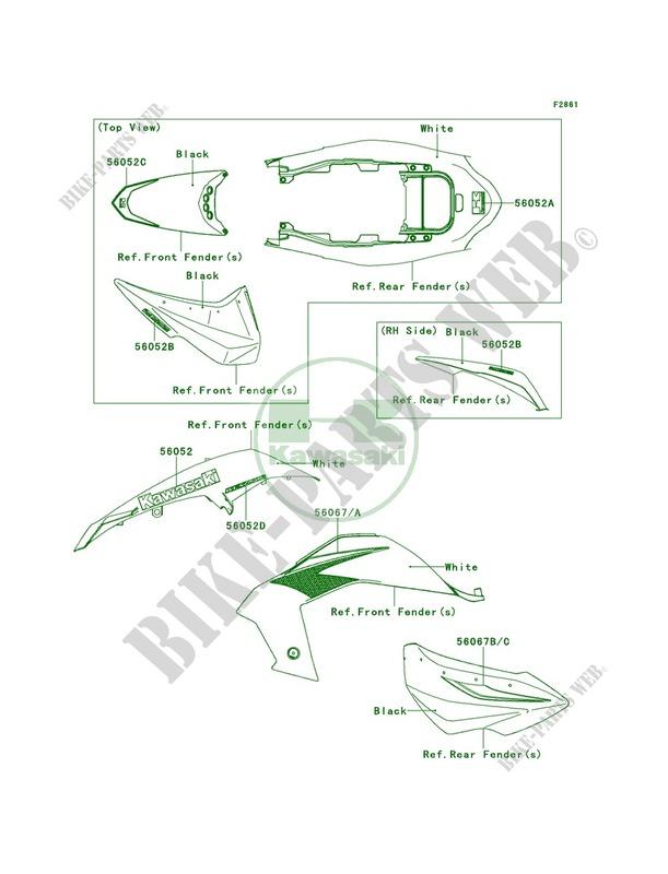 kfx 450r wiring diagram wiring diagram and schematicsdecalswhiteb8f  ksf450b8f kfx450r 2008 450 quad kawasaki motorcycle 05
