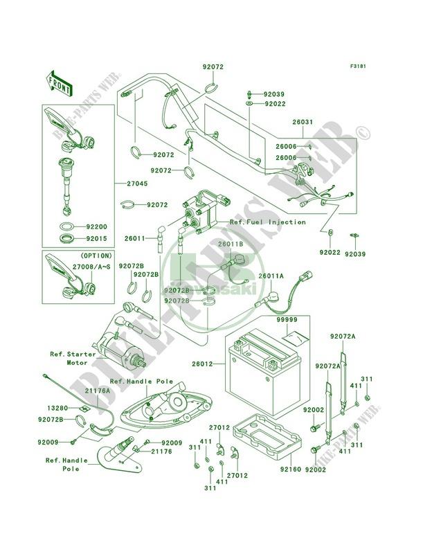 Electrical Equipment For Kawasaki Stx