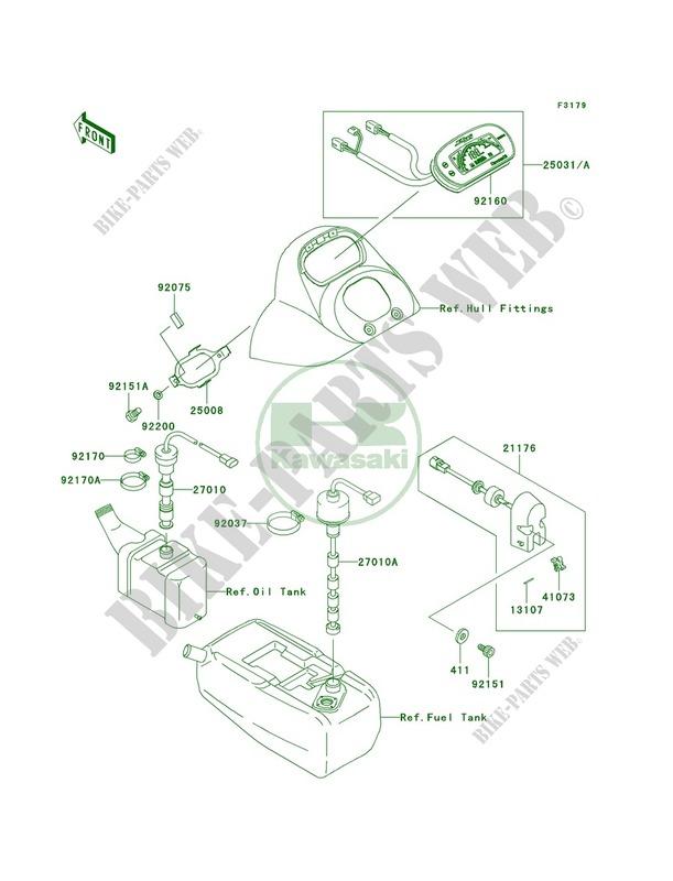 Meters Kawasaki JET SKI 900 2003 900 STX JT900 D1 26 kawasaki jt900 stx diagram trusted wiring diagram