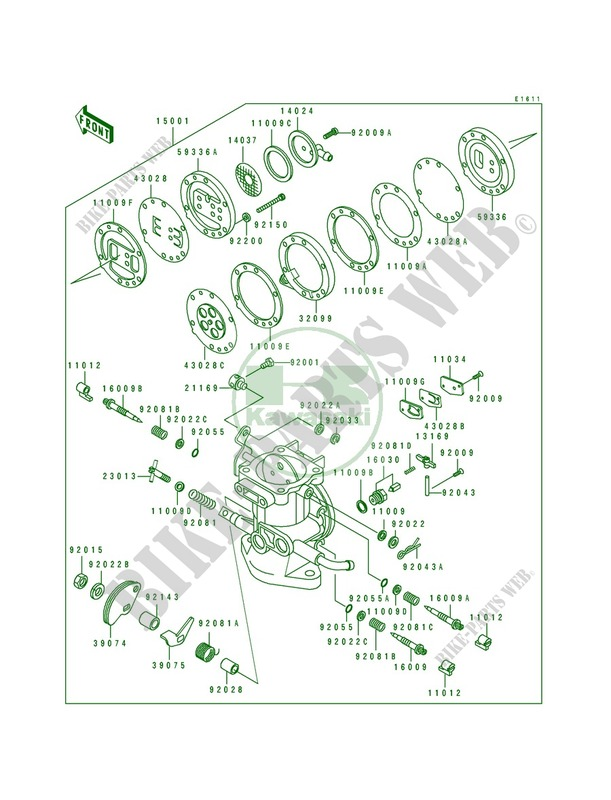Kawasaki Carb Diagram - Wiring Diagrams List