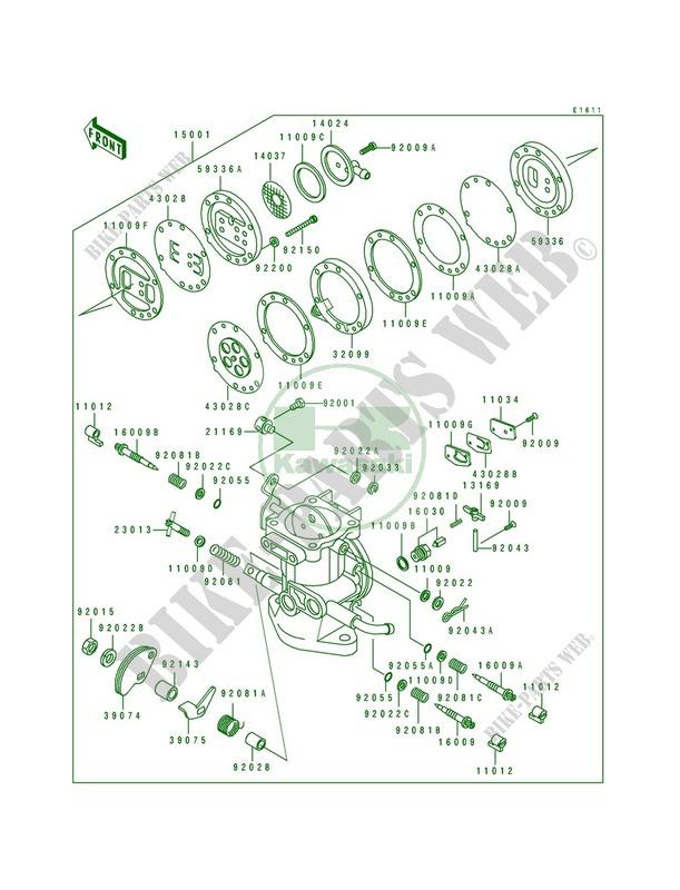 Kawasaki Carb Diagram - Wiring Diagrams List