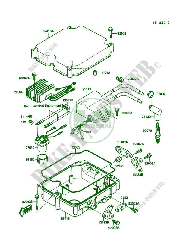 Kawasaki Jet Ski 650 1989 Mate Jb650a1 Ignition System: Kawasaki Jet Mate Wiring Diagram At Hrqsolutions.co