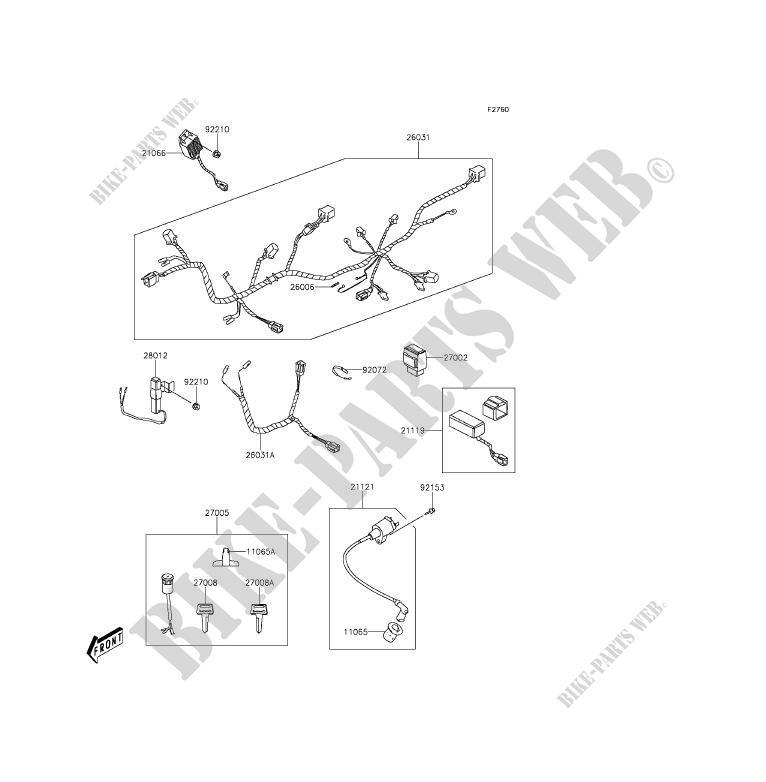 Kawasaki Kfx 90 Wiring Diagram - Wiring Diagrams List on