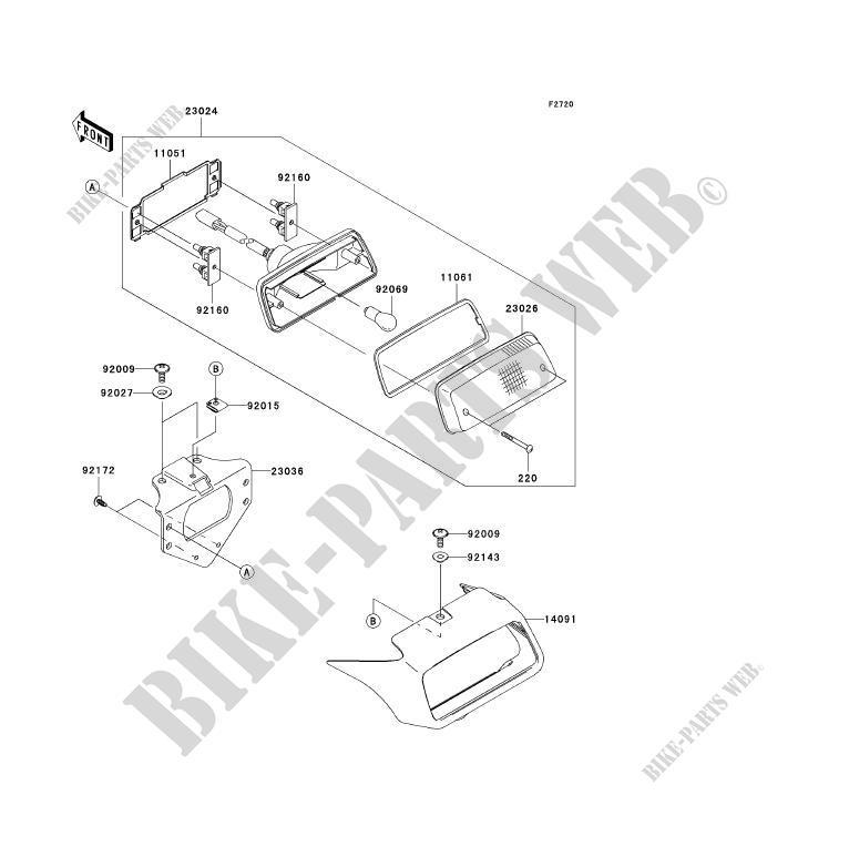 kawasaki kfx 700 wiring diagram wiring diagram autovehicle tailight s ksv700 a2 kfx700 2005 700 quad kawasaki motorcyclekawasaki quad 700 2005 kfx700 ksv700 a2