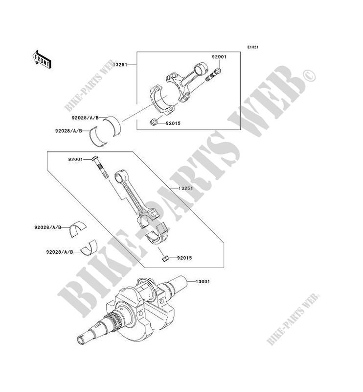 +New Genuine Kawasaki 92028-1963 Connecting Rod Browne Bushing