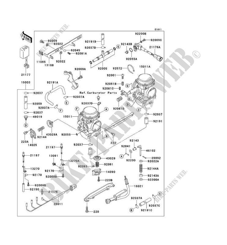 kawasaki klr650 wiring diagram  kawasaki  wiring diagrams