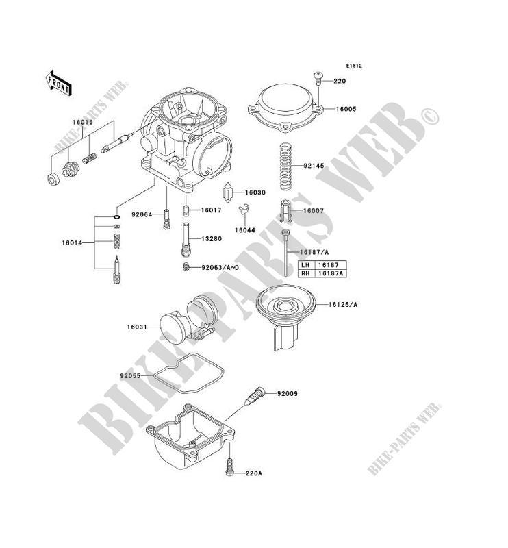 kawasaki motos 650 2003 w650 ej650-c5 ej650-c5 carburetor parts