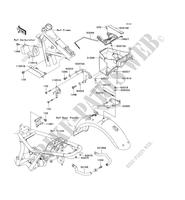 FRAME PARTS (COUVERTURE) EJ650C6F 650 kawasaki-motorcycle 2006 W650 E_05