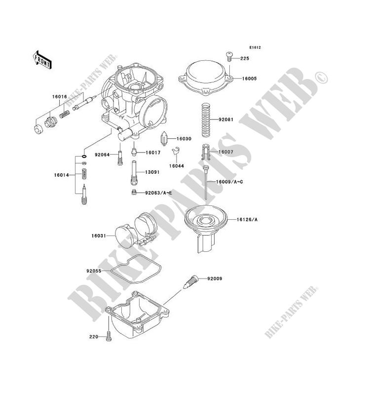 8353112 Kawasaki EL250 B Eliminator 1988 Carburettor Float Needle Valve