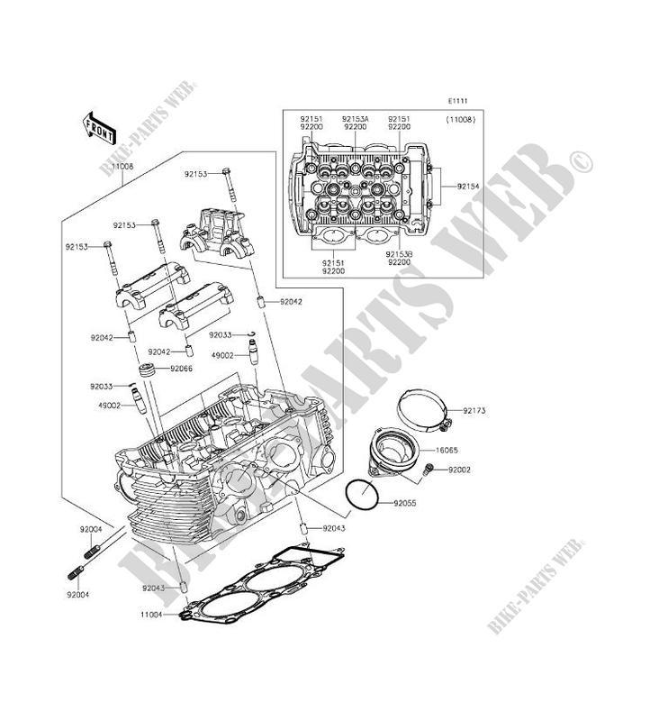 Kawasaki Motos 650 2016 Vulcan S Abs En650bgf Cylinder Head: Kawasaki Vulcan S Wiring Diagram At Hrqsolutions.co