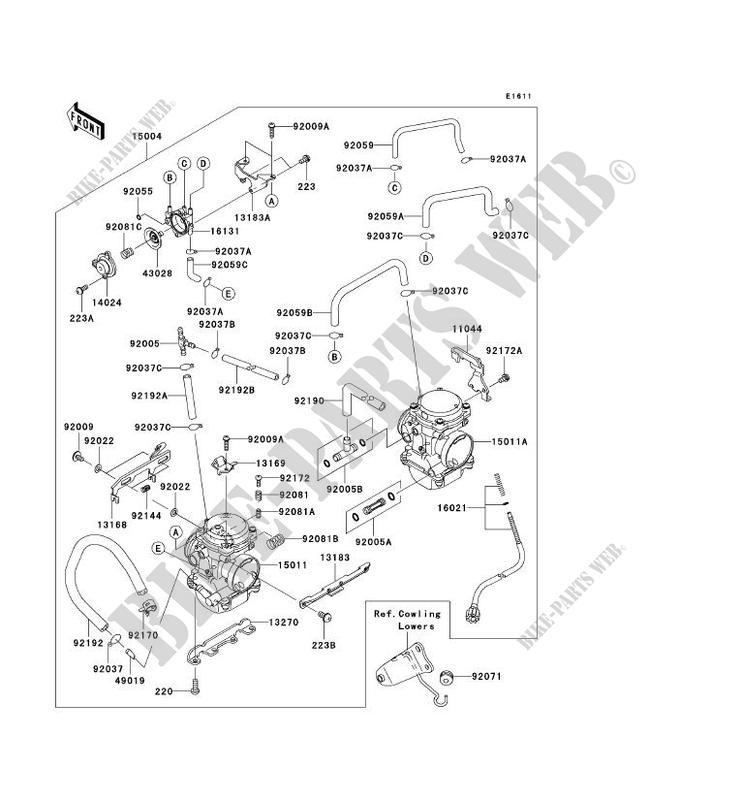 35 Kawasaki Ninja 250r Carburetor Diagram