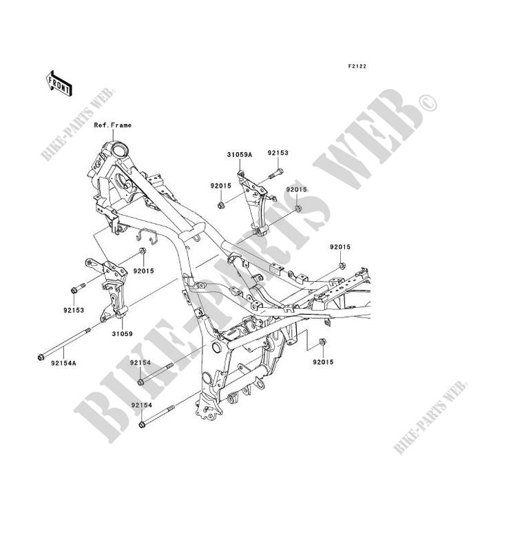 engine mount ex250jbfa ninja 250r 2011 250 motos kawasaki motorcycle 18 HP Kawasaki Engine Diagram