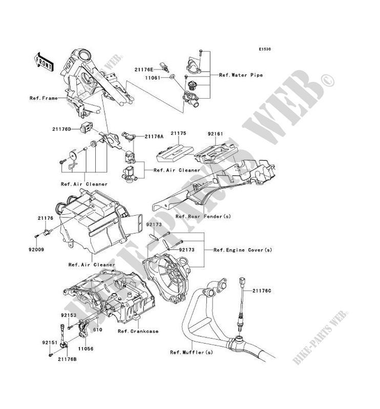 Kawasaki Ninja 250r Fuel Line Diagram