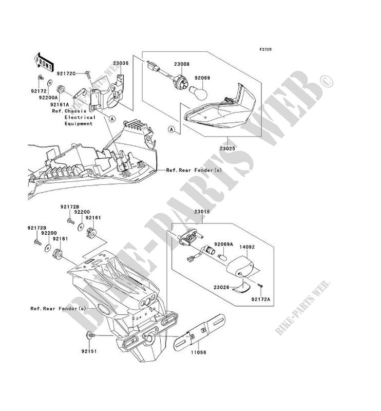 Kawasaki Ninja Tail Light Wiring Diagram