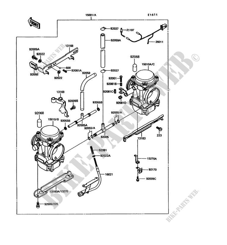 kawasaki 305 motorcycle wiring diagram