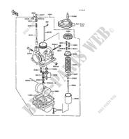 CARBURETOR for Kawasaki KE100 1991