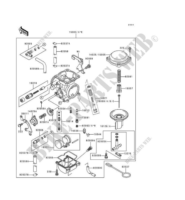 Carburetor For Kawasaki Klr650 1995   Kawasaki