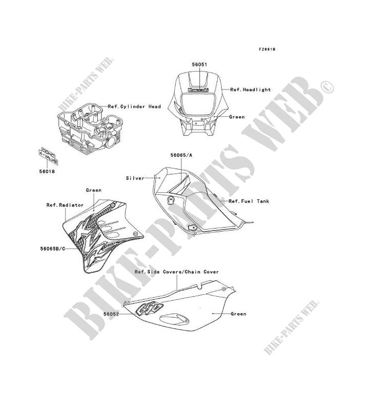 Kawasaki Klr 650 Parts List