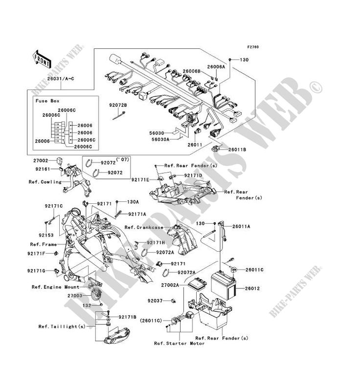 07 Kawasaki 650r Wiring Schematic | Wiring Diagram on