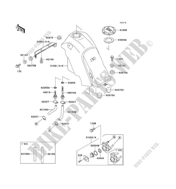 wiring diagram 1995 kawasaki klx650r  kawasaki  wiring
