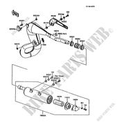 Kawasaki KMX 200 A3A 1989 200 CC Clutch Arm Rod Oil Seal