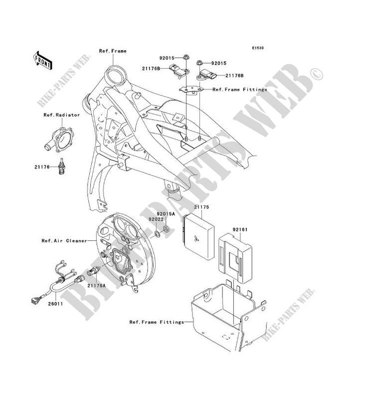 fuel injection kawasaki vn1600 mean streak 2005 1600. Black Bedroom Furniture Sets. Home Design Ideas