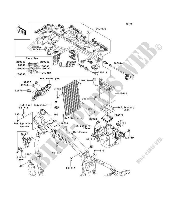 chis electrical equipment vn2000 a1 vn2000 2004 2000 motos     on 2004  kawasaki kh125