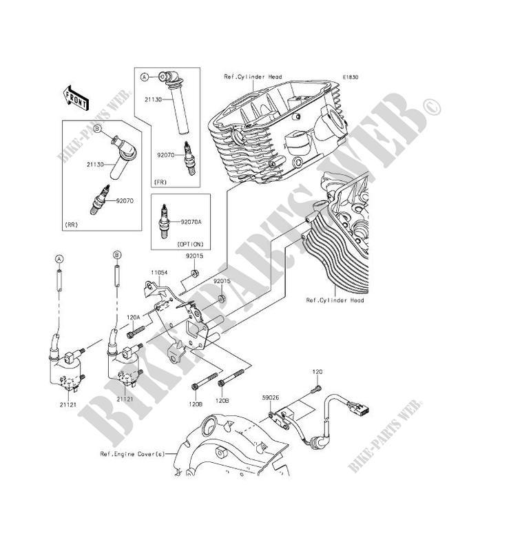 Ignition System For Kawasaki Vulcan 900 Custom 2012