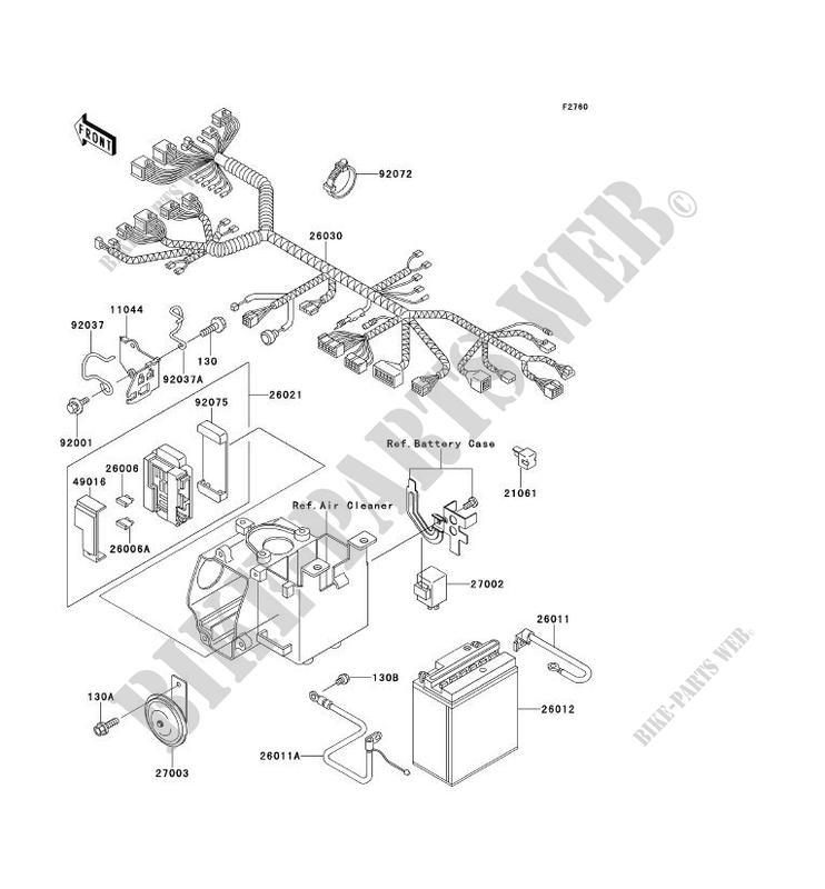 wiring diagram of 1996 kawasaki zl600 wiring diagrams