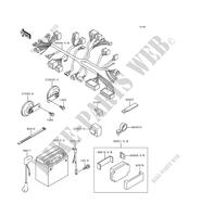 CHASSIS ELECTRICAL EQUIPMENT for Kawasaki ZEPHYR 1100 1992