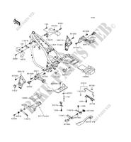 BATTERY BRACKET ZR1100 A2 1100 kawasaki-motorcycle 1993 ZEPHYR 1100 E_05