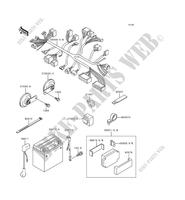 CHASSIS ELECTRICAL EQUIPMENT ZR1100 A2 1100 kawasaki-motorcycle 1993 ZEPHYR 1100 G_10