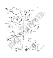 IGNITION SYSTEM ZR1100 A2 1100 kawasaki-motorcycle 1993 ZEPHYR 1100 D_10
