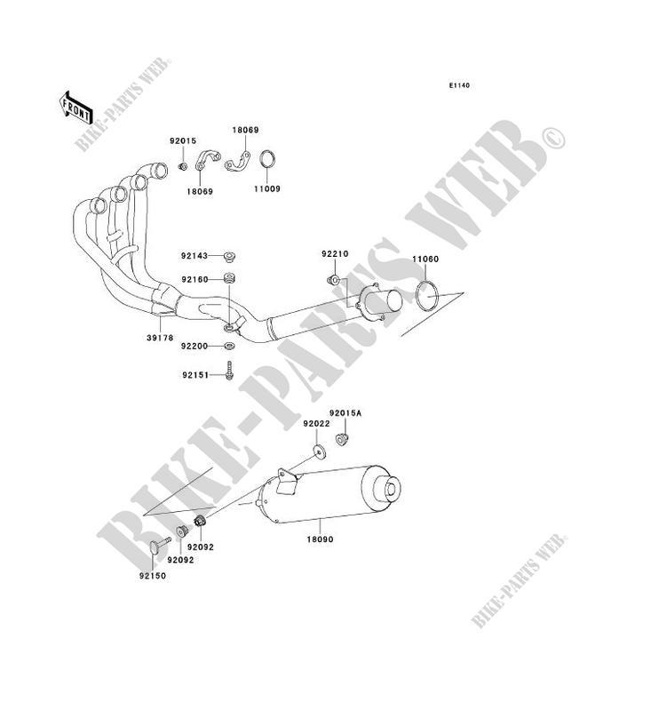 Kawasaki GASKETMUFFLER CONNEC 11060-1813