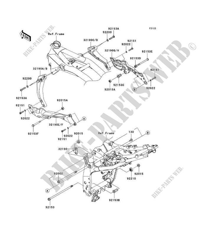 kawasaki engine mounting diagrams 14 hty capecoral bootsvermietungengine mount zr750m7f z750 abs 2007 750 motos kawasaki motorcycle rh bike parts kawa com kawasaki small engine parts breakdown kawasaki engine diplay half