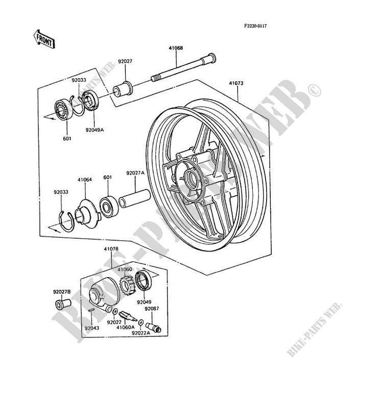 BEARING-BALL Kawasaki Gpz Rx Wiring Diagram on