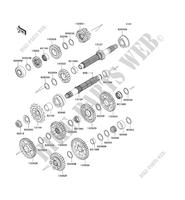 TRANSMISSION for Kawasaki NINJA ZX-10R 2010