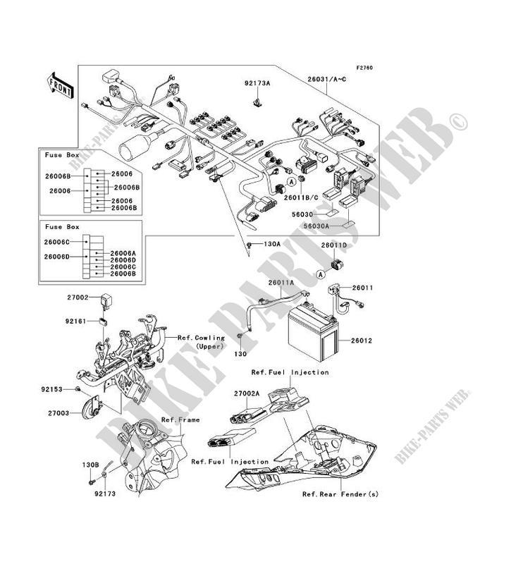 Electric Motor Bike Diagram
