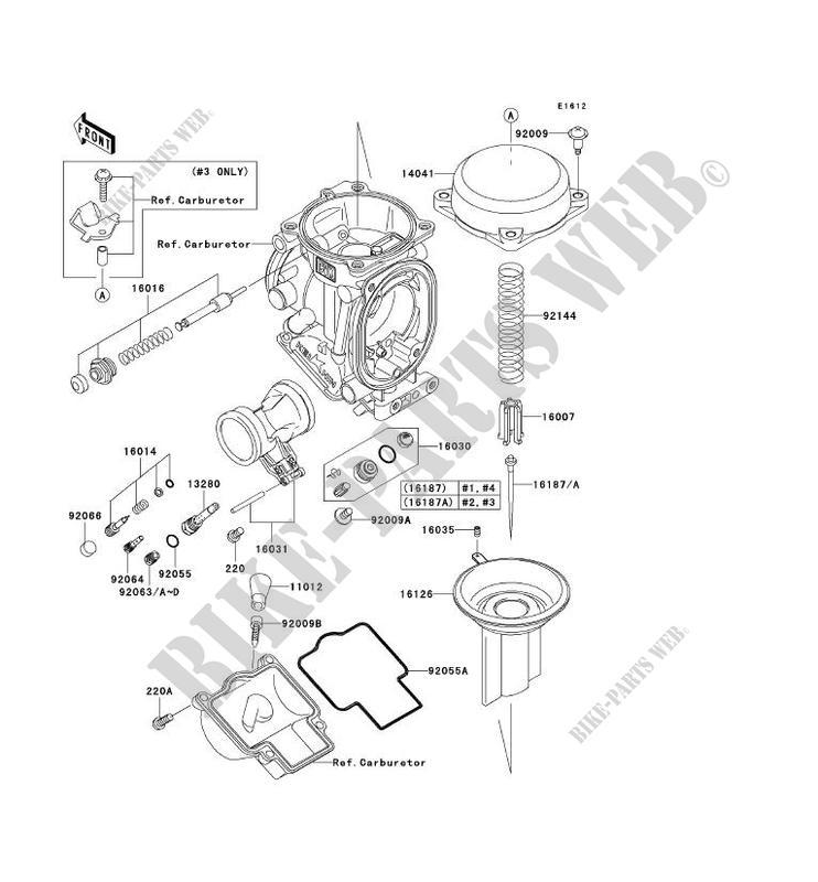 carburetor parts zx1200 c2 zzr1200 2003 1200 motos kawasaki rh bike parts kawa com Kawasaki ZZR 1400 ABS Kawasaki ZZR1200 Exhaust System