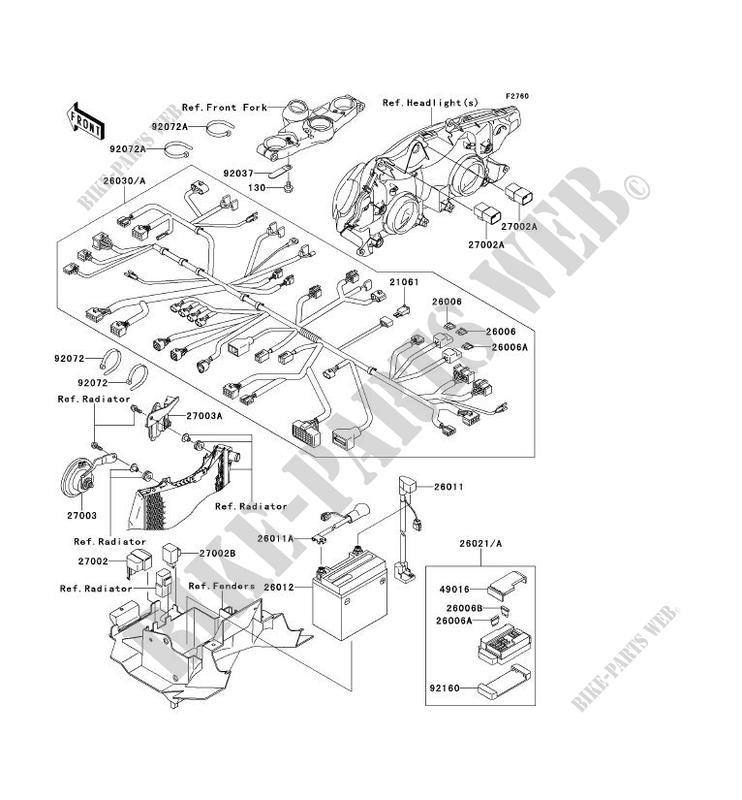 chassis electrical equipment zx1200 c2h zzr1200 2003 1200 motos rh bike parts kawa com 2004 Kawasaki ZZR 1200 Review 2005 Kawasaki ZZR 1200 Review