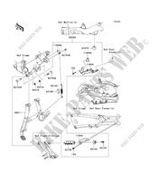 ACCESSORY (BEQUILLE CENTRALE) for Kawasaki ZZR1400 2013