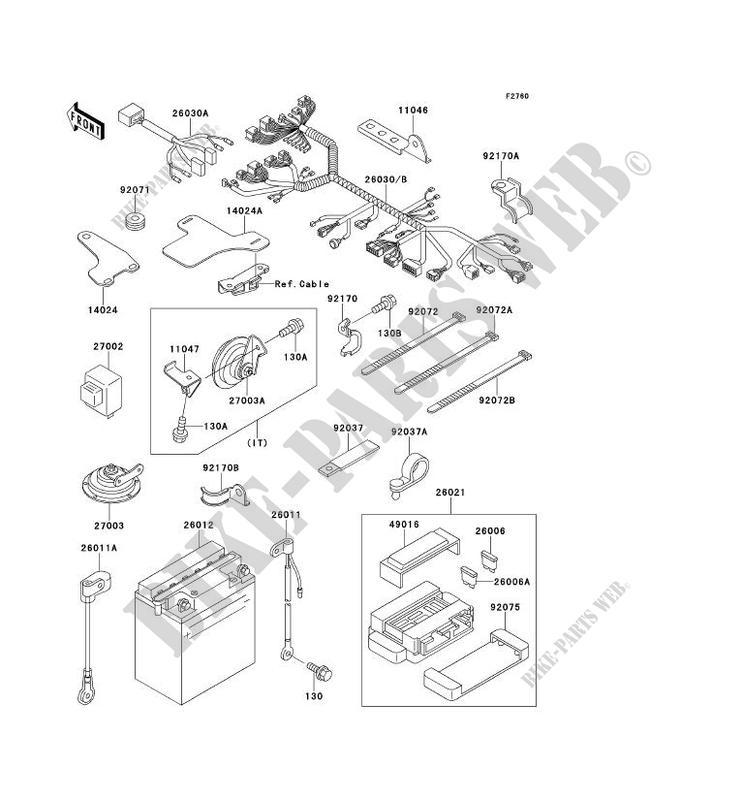 Kawasaki H2 Wiring Diagram - Wiring Diagrams Schema on