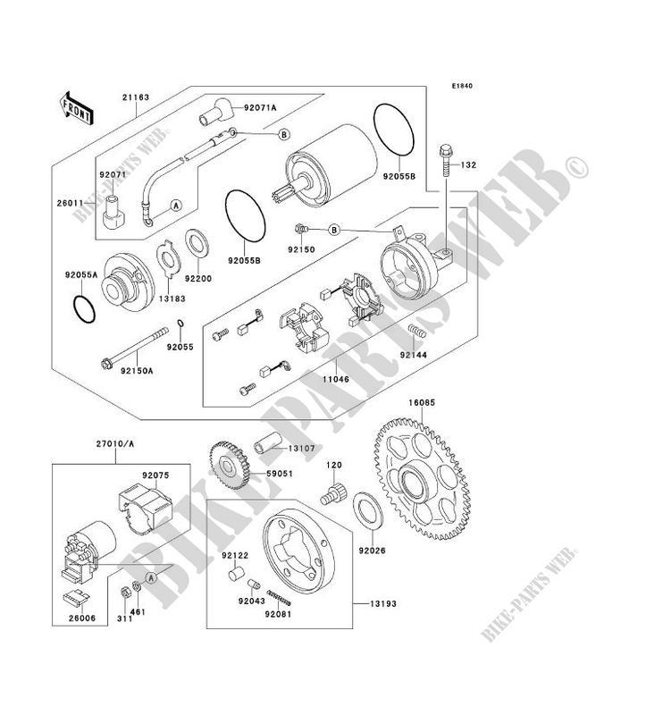 on kawasaki starter wiring diagram to parie