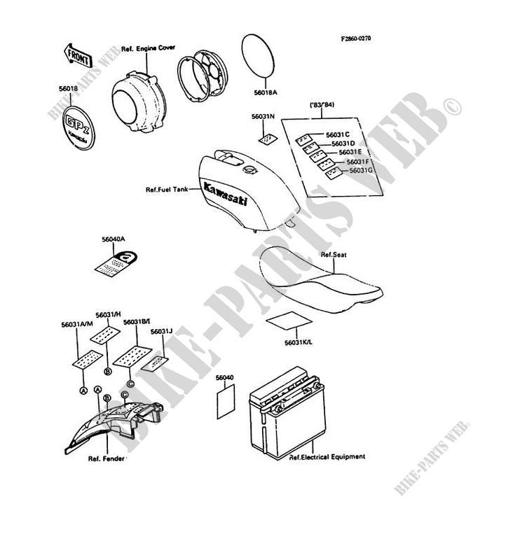 84 kawasaki motorcycle wiring diagram  kawasaki  wiring
