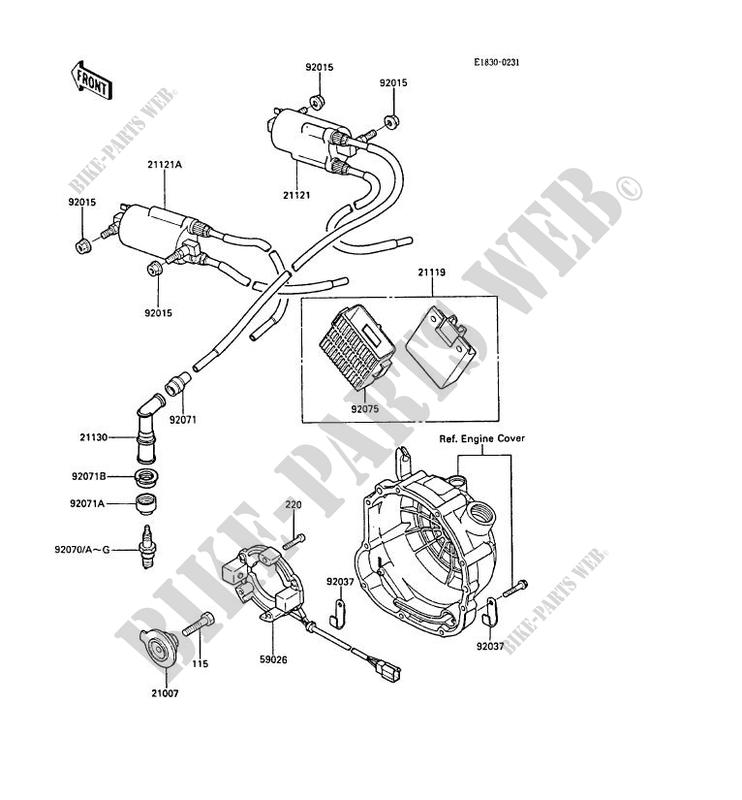 Kawasaki Gpz600r Wiring Diagram Diagramignition System 1987 600 Zx600 A3 15946 Kawasakiignition: Kawasaki Ninja Wiring Diagrams At Hrqsolutions.co