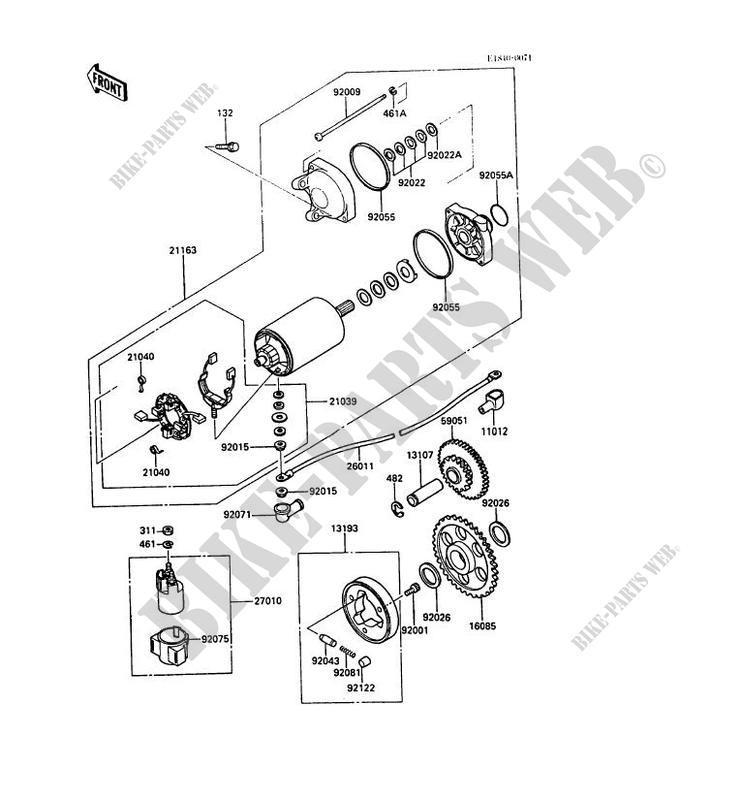 Kawasaki Gpz600r Wiring Diagram